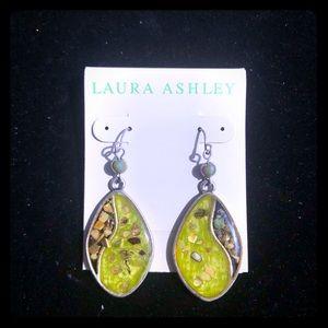 Laura Ashley Green Earrings